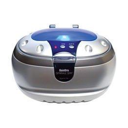 GemOro Sparkle Spa Personal Ultrasonic Mini Ultrasonic Cleaner - SILVER