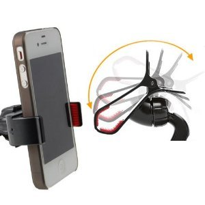In Car Holder for Apple Iphone 5 / 4 / 4s / 3G / 3 and Apple IPODs