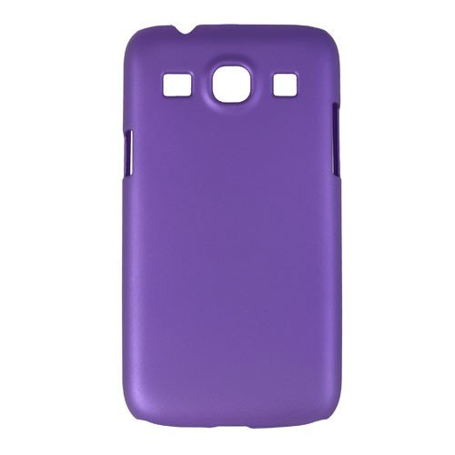 JUJEO Oil Painting Plastic Cover for Samsung Galaxy Core Plus G3500 / Trend 3 G3502 - Non-Retail Packaging - Purple