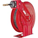 """Lincoln Lubrication 94552 Heavy Duty High Pressure Grease Hose Reel, 1/4"""" X 50'"""