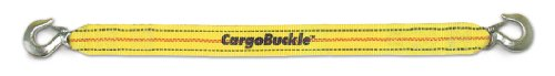 CargoBuckle F13922 Tow Strap with Forged Hooks