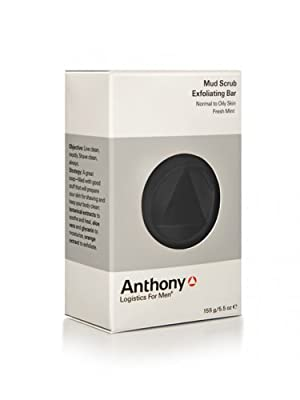 Best Cheap Deal for Anthony Logistics for Men Exfoliating Mud Scrub Bar, 5.5 Ounce by Anthony Logistics For Men - Free 2 Day Shipping Available