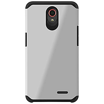 ZTE Prestige Case, ZTE Avid Plus Case, Celljoy [Liquid Armor] Slim Fit Dual Layer Protective **Shockproof** Hybrid Reinforced Bumper **Impact Resistant** Case - Thin Hard Cover Skin by CellJoy