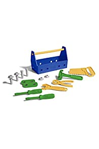 Green Toys Recycled Made in USA Tool Set (Blue)