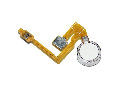 Rinbers Power Button Flex with Vibrator Vibrate Vibration Motor Flex Cable Ribbon Replacement for Samsung Galaxy Note II 2 (Sprint SPH-L900/Verizon SCH-i605)