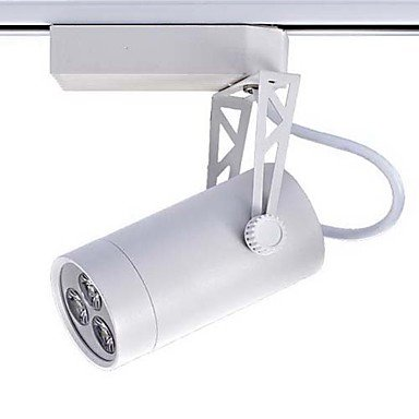 Mini Led Track Light, Modern White Aluminum Painting Warm White Ac100-240V