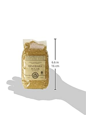 Demerara Baking Sugar, 16 Oz, 16 Oz