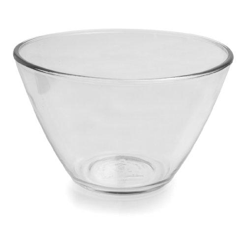 Anchor Hocking Splash Proof Glass Mixing Bowls, 3-Quart, Set of 2