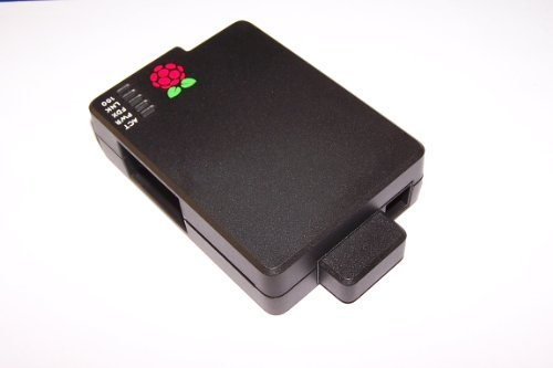 Cyntech Case With Sd Cover For Raspberry Pi - Black