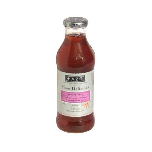 Tazo Plum Pomegranate Iced Tea, 13.8 Ounce -- 12 Per Case. front-137316