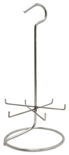 Ultrasonic Ring Cleaning Steel Rack front-191202