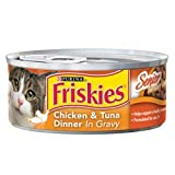Friskies Senior Tender Cuts Chicken And Tuna Dinner Canned Cat Food