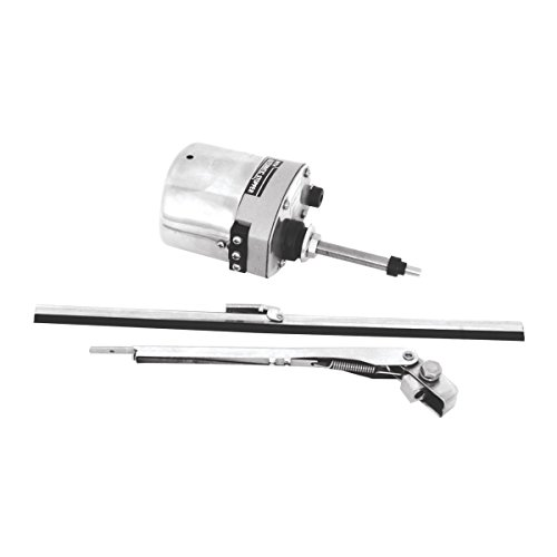 KNS Accessories KA8603 Stainless Steel Windshield Wiper Motor Kit (for Jeep, Street Rod, Custom and Hotrod) (Utv Windshield Wiper compare prices)