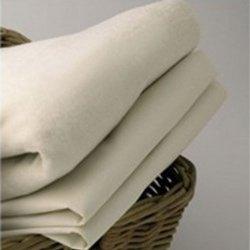 Organic Bassinet Sheet - Color: White - Size: 17X31