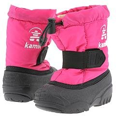 Kamik Kids Womens Tickle (Infant/Toddler) Magenta Cold Weather 9 Toddler M