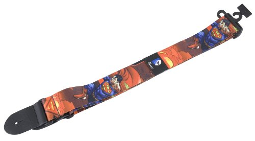 Peavey 03020890 Dc Superman Guitar Strap