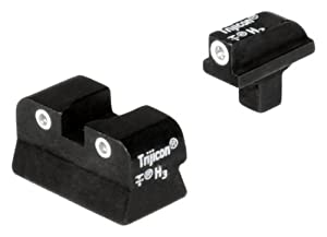 Trijicon Colt Government 3 Dot Front And Rear Night Sight Set,.125 Tang
