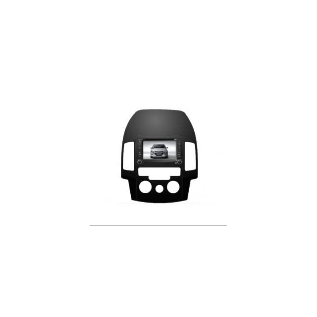 Eagle for 2007 2011 Hyundai Elantra Touring Car GPS Navigation DVD Player Audio Video System with Radio (AM/FM),Bluetooth Hands Free,USB, AUX Input,(free Map),Plug & Play Installation