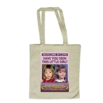 Madeleine McCann shopping bags and fine art prints - for sale on Amazon 31vytPGhS0L._SL500_SX342_