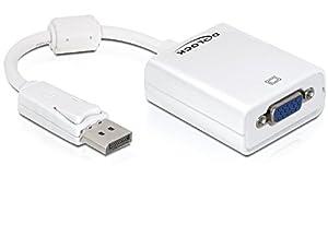 DELOCK Adapter Displayport-St > VGA-Bu weiss