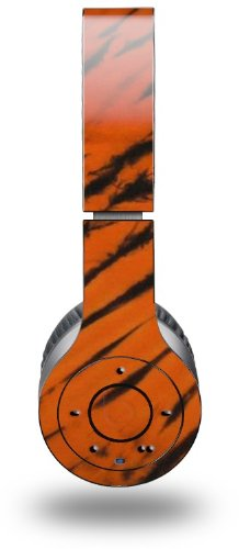 Tie Dye Bengal Belly Stripes Decal Style Skin (Fits Genuine Beats Wireless Headphones)