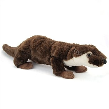 Plush River Otter 23 Inch Conservation Critter By Wildlife Artists front-686411