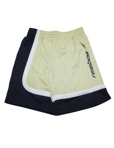 Reebok Youth High Performance Athletic Sports Shorts 10 Beige front-973098