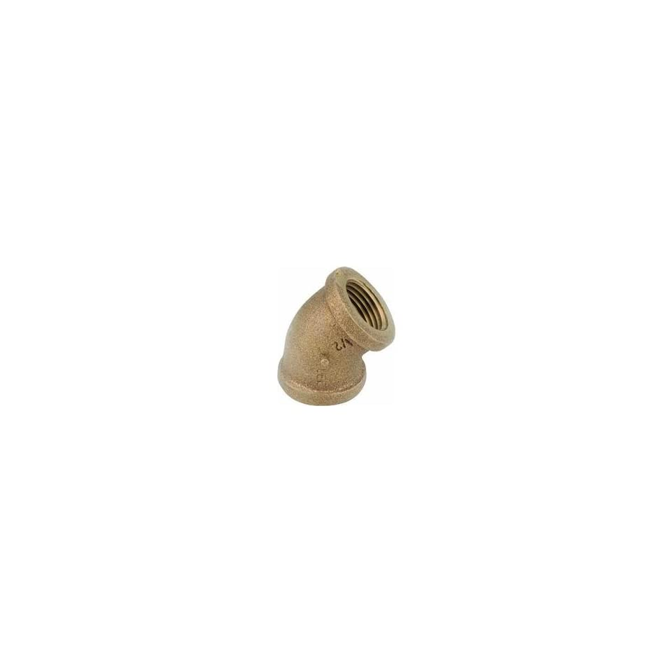 Anderson Metals Corp Inc 38107 08 Red Brass 45 Elbow