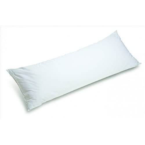 Schonfeld Pillow_Body 19 in. x 54 in. Full Length Body Pillow - White