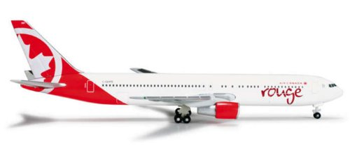 HE524230 Herpa Wings Air Canada Rouge B767-300 C-GHPE Model Airplane (Air Canada Model compare prices)