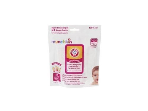 Arm & Hammer Hand and Face Wipes, 24-Count