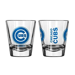 Chicago Cubs Game Day 2oz Shot Glass (Cubs Beer Glasses compare prices)