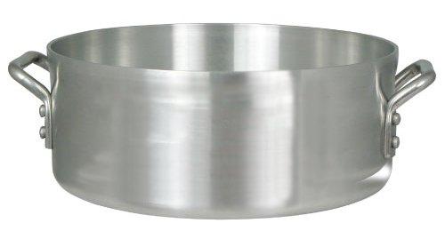 24 Qt Brazier, Professional Reinforced 3003 Aluminum, 4.0 Mm