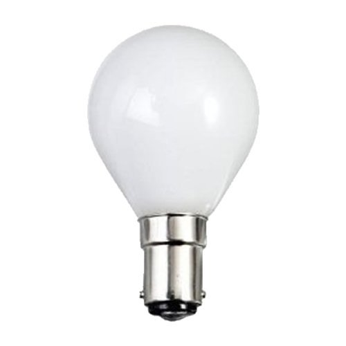 Eveready 20 X 25W Sbc (B15) Bayonet Cap Pearl/Opal Finish Golf Ball Round Lamps - Pack Of 20 [Eu Specification: 220-240V]