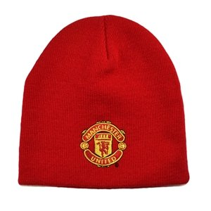 Manchester United FC - Red Beanie / Winter Hat, Ships from USA (Manchester United Beanie Hat compare prices)