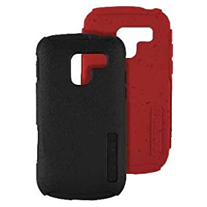 Incipio SILICRYLIC DualPro ECO Case for Samsung Exhilarate - Red & Black Gels