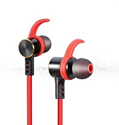 FIRETALK GEAR 6 WATERPROOF SPORTS BLUETOOTH HEADSETS Wireless Bluetooth Headset (BLACK RED)