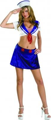 cesar Anchor's Aweigh Sexy Sailor Costume Adult Standard Size 14-16 [Toy]