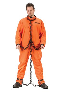 Chain Gang Links Costume