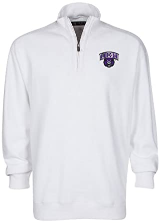 Oxford NCAA University of Central Arkansas Mens Sutton Quarter Zip Pullover by Oxford