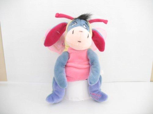 "Disney Winnie the Pooh 6"" Butterfly Eeyore Plush - 1"