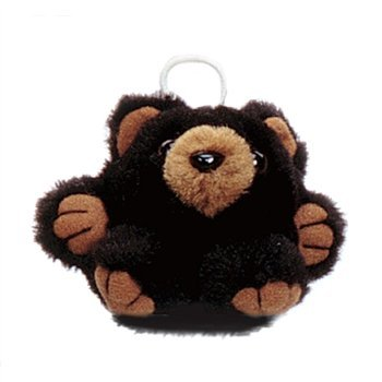 "Purr-Fection Mini Randy Cushy Kid Black Bear 3"" Plush"