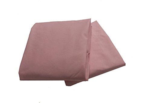 Baby Doll 2 Piece Solid Crib Sheet Set, Pink - 1