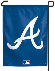 "MLB Atlanta Braves Garden Flag, 11""x15"", Team Color"
