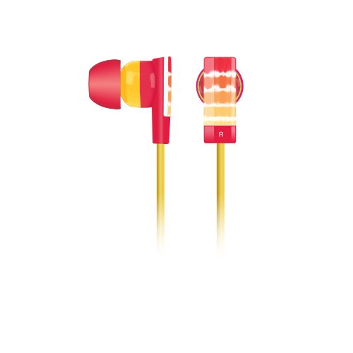 Merkury Innovations Mi-Ebm155 Tie Dye Earbuds - Yellow
