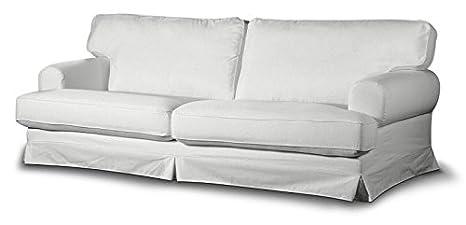FRANC-TEXTIL 666-702-00 Ekeskog funda sofá no plegable, no plegable Ekeskog, Cotton Panama, alt blanco