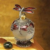 StealStreet SS-A-51618 Crystal Jewel Perfume Bottle Scented Fragrance Container