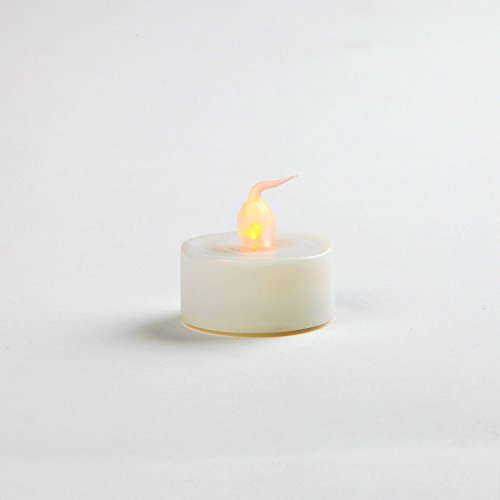 details about flameless unscented tea lights with realistic flickering. Black Bedroom Furniture Sets. Home Design Ideas