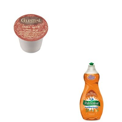 Kitcpm46113Eagmt14738Ct - Value Kit - Celestial Seasonings India Spice Chai Tea K-Cups (Gmt14738Ct) And Ultra Palmolive Antibacterial Dishwashing Liquid (Cpm46113Ea)
