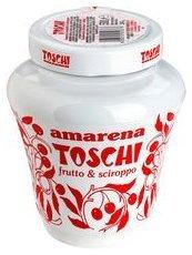 Amarena Toschi Italian Black Cherries in Syrup 17.9 Oz.